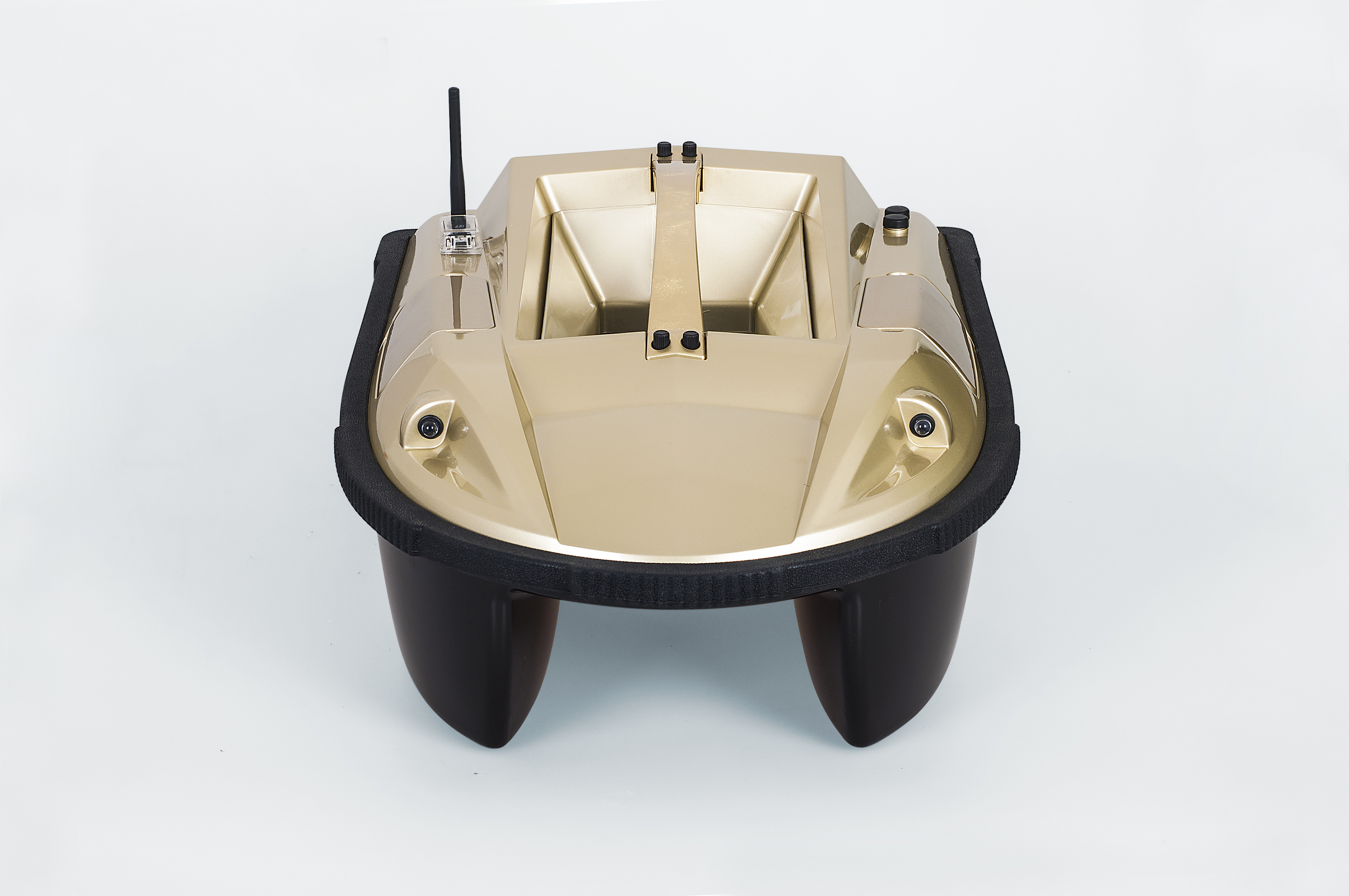 Golden Intelligent Remote Control Fishing Bait Boat With Fish Finder